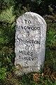 Milestone near Knaves Ash, New Forest - geograph.org.uk - 495125.jpg