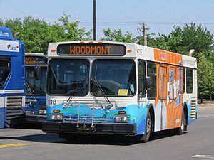 Milford Transit District - Image: Milford T 118