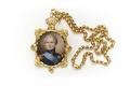 Miniatyrporträtt av Karl XIV Johan - Skoklosters slott - 92351.tif
