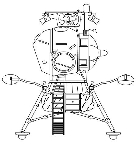 Diagram Of Mir Space Station