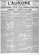 Mirbeau - Une soirée de trahison, paru dans L'Aurore, 09 février 1899.djvu