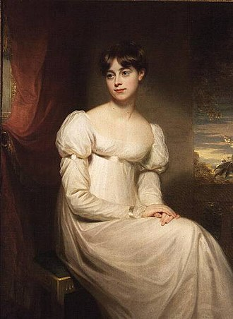 William Beechey - Miss Harriet Beechey, by William Beechey, ca.1800