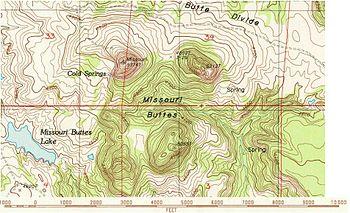 Missouri Buttes Wikipedia