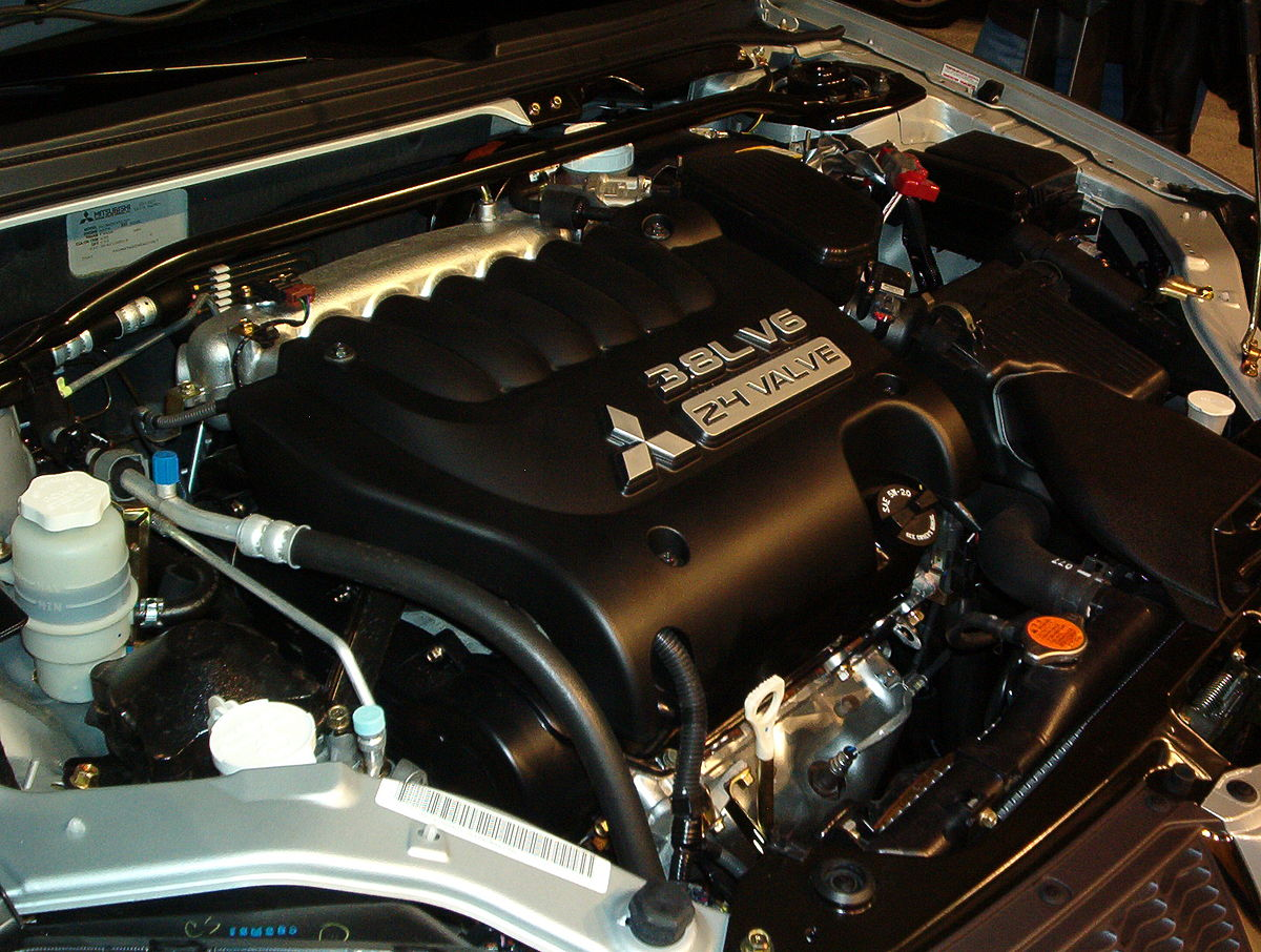 Mitsubishi 6G7 engine  Wikipedia