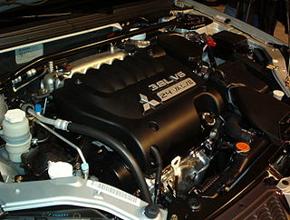 Mitsubishi 6G7 engine