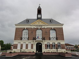 The town hall of Moÿ-de-l'Aisne