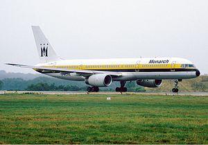 Monarch Airlines Boeing 757 Rees.jpg