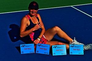 Carole Monnet remporte 4 titres consecutifs sur le circuit ITF Pro
