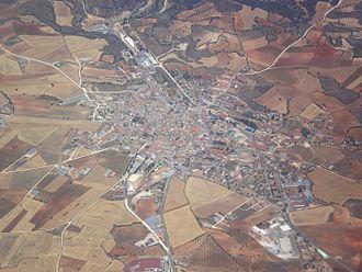 Mondéjar - Aerial photograph of Mondéjar