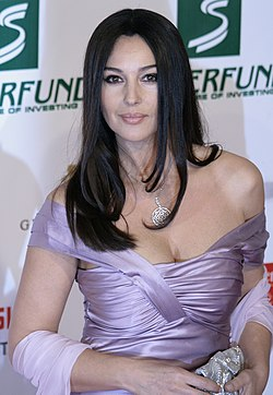 Monica Bellucci vid Women's World Awards 2009