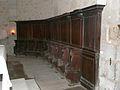 Montagnac-sur-Auvignon église stalles.JPG