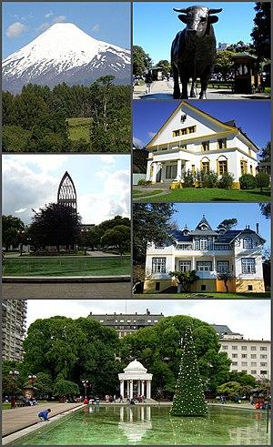 Osorno, Chile - Image: Montaje de Osorno, versión 2