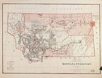 Montana Territory - Montana Territory, 1879