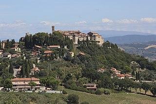 Monte Castello di Vibio Comune in Umbria, Italy