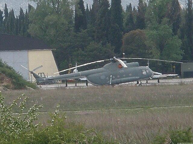 Armée du Monténégro / Montenegro Armed Forces / Vojska Crne Gore 640px-Montenegrian_airforce_mi_8