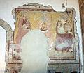 Montepescali, san niccolò, interno, resti di affreschi del 1380-90 circa 02.JPG