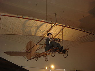 John Joseph Montgomery - The Evergreen glider restored by the Smithsonian Institution on display at the San Diego Air and Space Museum