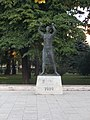 Monument of the Hungarian Soviet republic. - Kölcsey Square, Cegléd.JPG