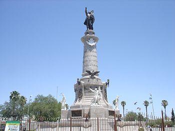 Monumento a Benito Juarez Cd Juarez