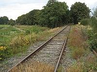 Moorexpress, Gleise östlich vom Bahnhof Ahrensfelde.jpg