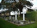 Morgan family burial plot, St Basil's churchyard - geograph.org.uk - 1038078.jpg