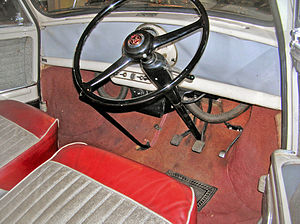 Mini - 1959 Morris Mini-Minor interior