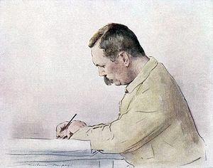 Mortimer Menpes - Arthur Conan Doyle by Mortimer Menpes