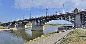 K. Rudzki i S-ka - Poniatowski Bridge, Warsaw, built in 1904–14