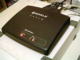 28.8 kbit/s serial-port modem from Motorola