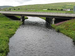 Motorway Bridge over the River Clyde - geograph.org.uk - 946040.jpg