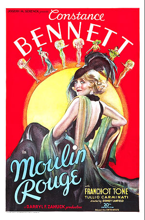 Moulin Rouge (1934 film) - Film poster