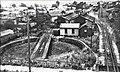 Mount Gambier railway yard and turntable in 1949.jpg