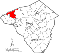 Mount Joy Township, Lancaster County Highlighted.png