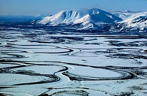 Mountains and Meandering Rivers, Arctic Nation...