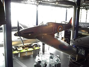 Thinktank, Birmingham Science Museum - Image: Move It Thinktank Birmingham Science Museum Hawker Hurricane Mark IV (8620462206)