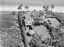 Estate At 1755 North Ocean Boulevard January 26 1933