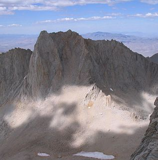 Mount Russell (California) mountain in United States of America