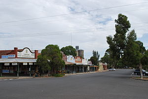 Murrayville, Victoria - Reed St, in Murrayville