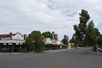 Murrayville, Victoria - Reed St, in Murrayville
