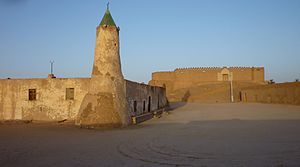 Fezzan - Fort and mosque of Murzuk