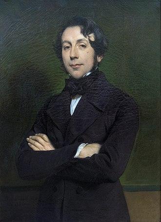 Charles de Rémusat - Portrait of Rémusat by Paul Delaroche
