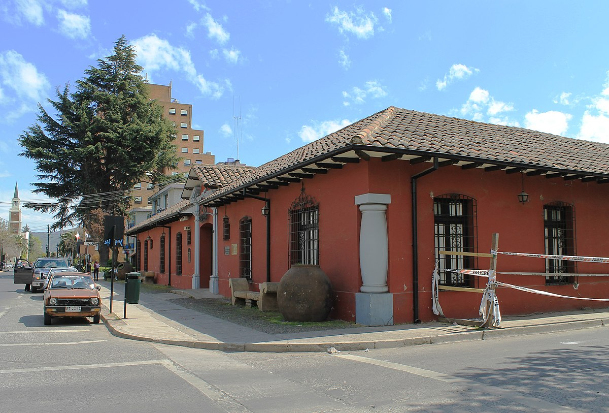 Museo O 39 Higginiano Y De Bellas Artes De Talca Wikipedia