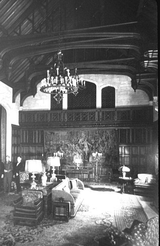 Briarcliff (mansion) - Music room at Briarcliff