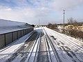 Muskogee snowstorm 2021-02-15 Callahan St Bridge S.jpg