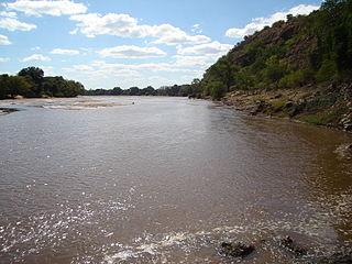 Mzingwane River river in Zimbabwe
