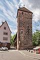 Nürnberg, Stadtbefestigung, Mauerturm Grünes B 20170616 001.jpg