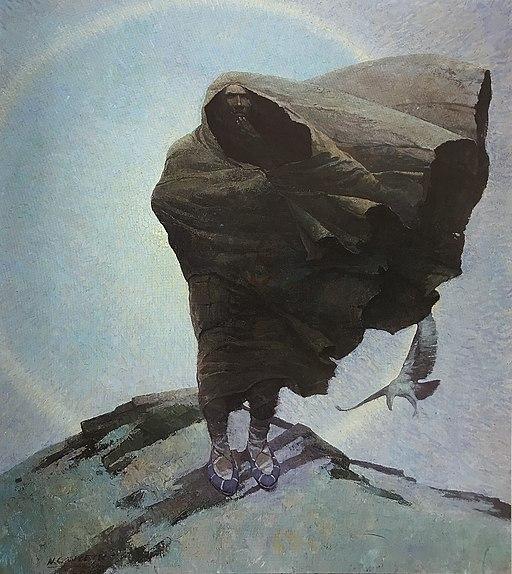 N.C.Wyeth winter 1909