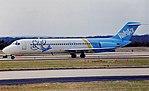 Le Douglas DC-9 (N904VJ) impliqué dans l'accident, ici photographié un an avant le crash.
