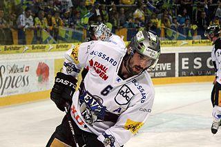Tim Ramholt Swiss ice hockey player