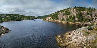 Avondale, Newfoundland and Labrador - River flow toward Conception Bay